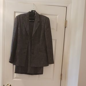 Narciso Rodriguez wool and cotton blend suit